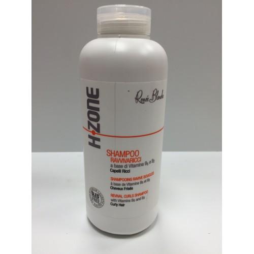 Shampoing ravive boucle à la cire d'abeille et huile d'argan par H-Zone pour cheveux frisés, sans Paraben et sans Sel